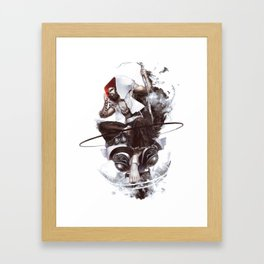 Bodhidharma Framed Art Print