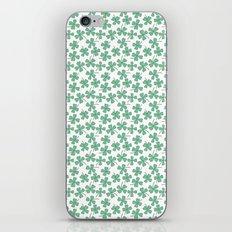Four Leaf Clovers iPhone & iPod Skin