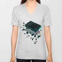 Galaga Craft Unisex V-Neck