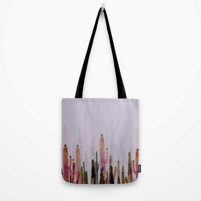 cactus water color colors Tote Bag