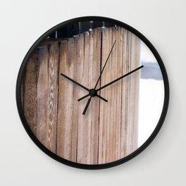 sleet. Wall Clock