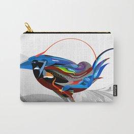 Blue Splendor Carry-All Pouch