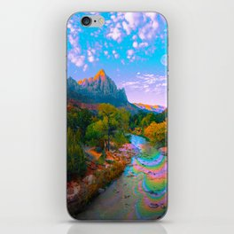 Flowing With The River iPhone Skin