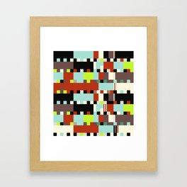 Chopin Fantaisie Impromptu (Dublin Airport Colours) Framed Art Print