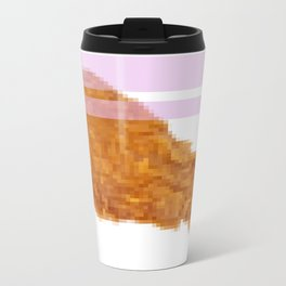 FRIED PIXELS Metal Travel Mug