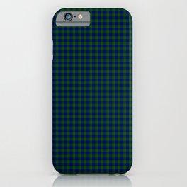 Barclay Tartan iPhone Case