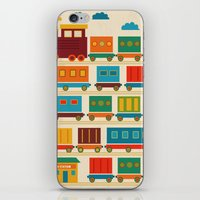 train iPhone & iPod Skins featuring Train by Kakel
