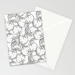 Orange Fruits Stationery Cards