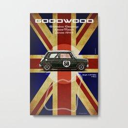 Goodwood Mini Vintage Metal Print