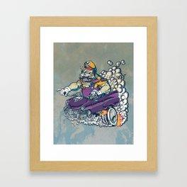 Wario Fink Framed Art Print