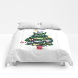 Christmas T0T0R0 (Studio Ghibli) Comforters