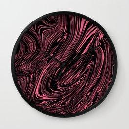No Mixed Paint Wall Tapestries Wall Clock