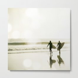 The Pull of the Tide Metal Print