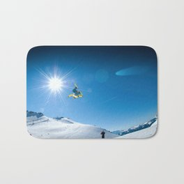 Snow time Bath Mat