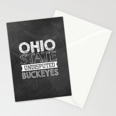 Undisputed Buckeyes Stationery Cards