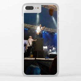 Lights, Camera , Noise Clear iPhone Case
