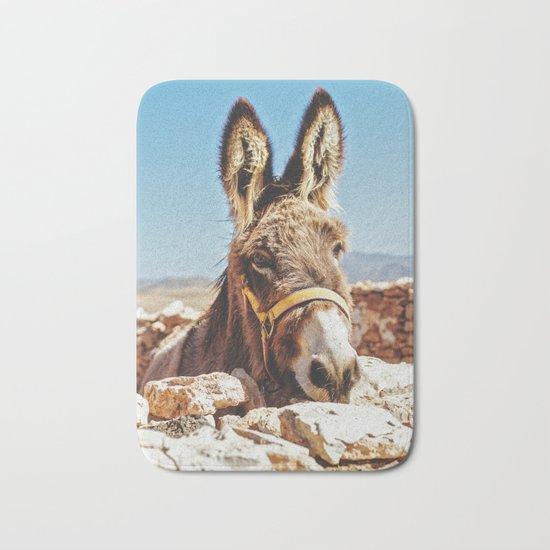 Donkey photo Bath Mat