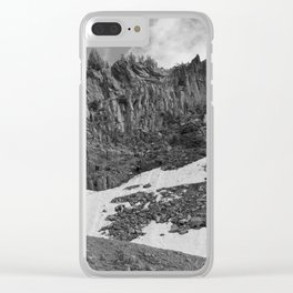 Alpine Expedition Clear iPhone Case