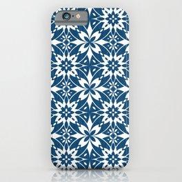 Mediterranean Tiles N.01 / Blue Jeans iPhone Case