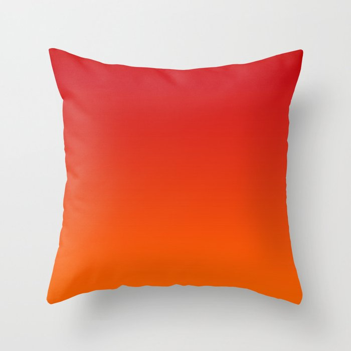 Sunset Ombre Throw Pillow