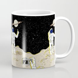Posing Astronaut  Coffee Mug