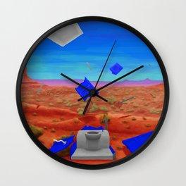 Toilet Explosion, Utah Wall Clock