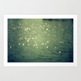 Dancing Light Art Print