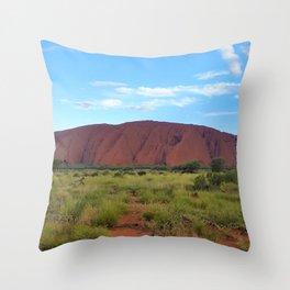 Uluru - Australia Throw Pillow