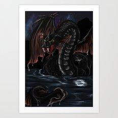 Sea Serpent - Bakunawa Art Print