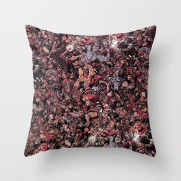 Infinite Battle Of Quantum Stacked SurReality Throw Pillow