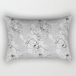 My grey garden Rectangular Pillow