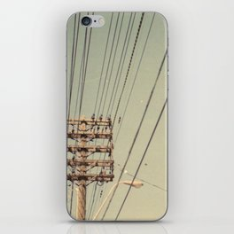 wire iPhone Skin