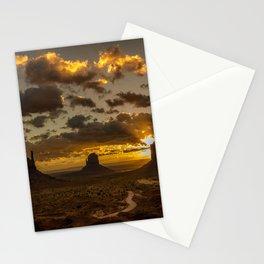 Monument Valley - Vivid Sunrise Stationery Cards