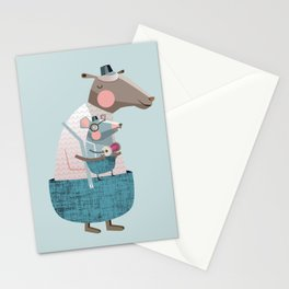 Sheep & Mouse Stationery Cards