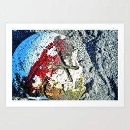 Nautical Art - X Marks The Spot - Sharon Cummings Art Print