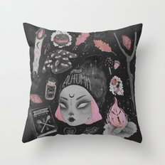 Magical ϟ Autumn Throw Pillow