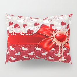 Hearts Valentines Pillow Sham