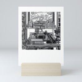 The Library Mini Art Print