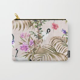 Crane in paradise Carry-All Pouch