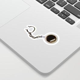 Coffee Shackles Sticker