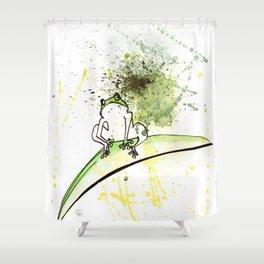 FROG - animal portrait serie Shower Curtain