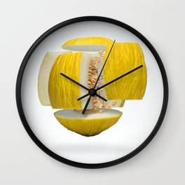 Flying Casaba Melon Wall Clock