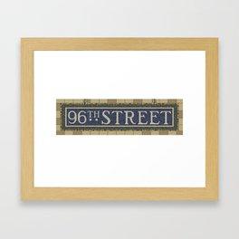 96th Street Framed Art Print