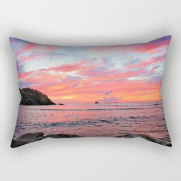 Caribbean Sunset Rectangular Pillow