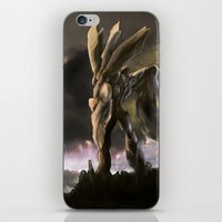 robot iPhone & iPod Skins featuring ROBOT by peocle