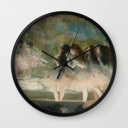 "Edgar Degas ""Ballet at the Paris Opéra"" Wall Clock"