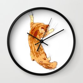 Hanging 18 Wall Clock