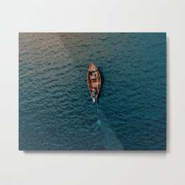 Gone for the Ocean Metal Print