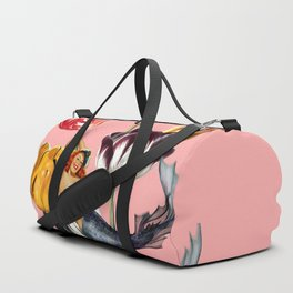 Mermaid Land #collage Duffle Bag