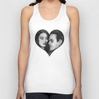 selena gomez Tank Tops featuring Morticia and Gomez by Jake Anthony